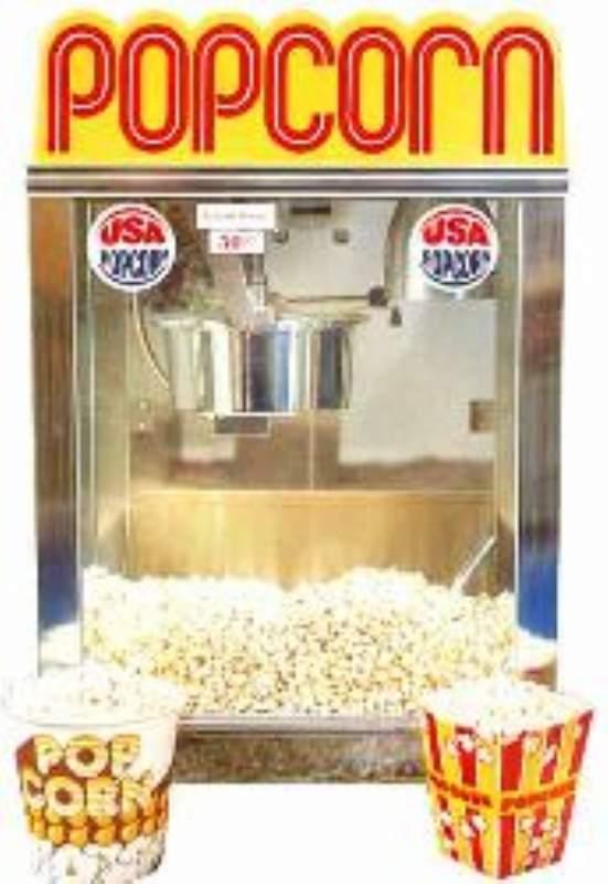 salg/udlejning af Popcornmaskine