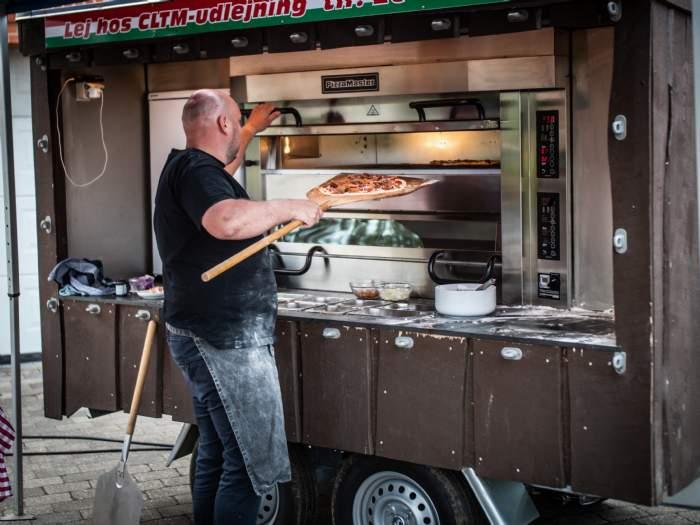 salg/udlejning af Rullende pizzaria